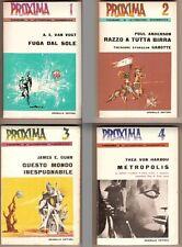 Van Vogt Anderson Gunn Von Harbou PROXIMA numeri 1-4 COMPLETA 1966