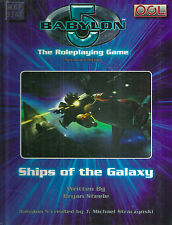 "Steele ""Babylon 5 Second Edition: Ships Of The Galaxy"" 2006 1St Ed Hc Vg+ Rare"