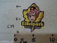 STICKER,DECAL EIFELPARK GONDORF BEI BITBURG