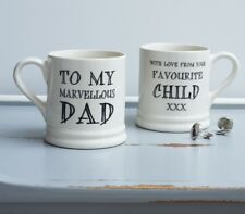 Sweet William MARVELLOUS DAD Mug | Great Gift for Father's Day | FREE P&P