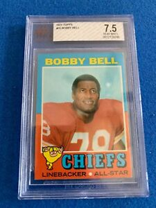 1971 TOPPS CHIEFS'' LEGEND BOBBY BELL BGS 7.5
