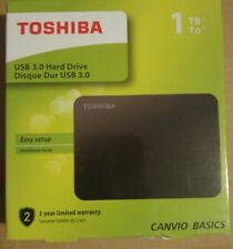 Brand New Toshiba Canvio 1TB 2.5-Inch USB 3.0 Canvio Basics External HDD