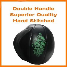 3 KG MEDICINE BALL DUAL HANDLE CORE EXERCISE WORKOUT CROSSFIT WEIGHTLIFTING GYM
