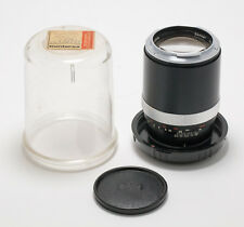 Carl Zeiss Contarex Sonnar 135mm f/2.8 Lens w/bubble case, cap, very clean
