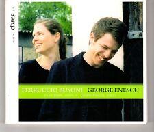 (HH742) Ferruccio Busoni / George Enescu - 2008 CD