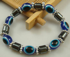 1pcs fashion accessories charm bead spacing haematite Stretch Bracelet hot 1h1s
