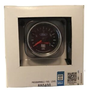 """Auto Meter Ford Racing 2-1/16"""" Programmable Fuel Level Gauge 0-280 Ohm"""