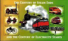 MODERN GEMS -Sierra Leone - Century of Electricity Starts III - Sheet of 6 - MNH