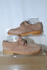 Latouche Ladies Brown Suede Monk Strap Shoes Uk Size 5 / 38