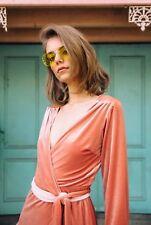 Isabelle Quinn Winona Wrap Dress Red Velvet BNWT RRP $350 6