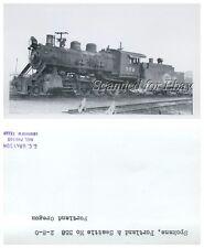 Spokane Portland & Seattle #358 Portland Oregon VINTAGE PHOTO-Railroad