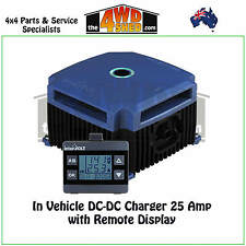In Vehicle Dual Battery System DC-DC Charger 25 Amp with Remote Display