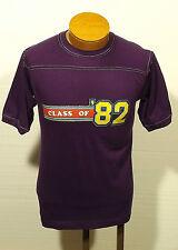 VTG 80s Class Of /'85 Raglan Baseball T-Shirt Mens SZ XS Iron On Hippie A13