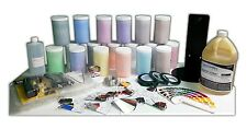 Powder Coat Coating Master Kit Sample Colors Tapes Plugs Caps Hooks Swatches
