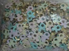"""25 PIECES MULTI COLORED 3/16"""" BABY PACIFIERS EYELETS EMBELLISHMENTS"""