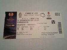 Ticket STANDARD LIEGE - ESBJERG FB 2013/14 Europa League Belgium Denmark België