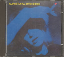 MARIANNE FAITHFULL Broken English CD 8 tr Working Class Hero Ballad Lucy Jordan