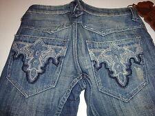 Antik DenimLow Waist Jeans  Dark 27 x 30  New