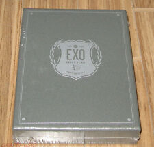 EXO EXO's First Box + SECOND BOX SET K-POP 8 DISC DVD SEALED