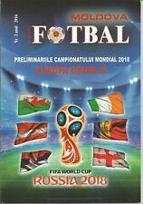 Moldavia V Galles REP d'Irlanda WC emissione di Gruppo 2017