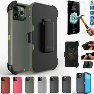 For Apple iPhone 11 11 Pro Max Case Cover |Belt Clip Heavy Duty TPU Holster| Pro