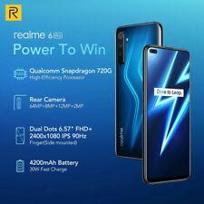 """Oppo Realme 6 PRO FULMINE Blue 6.6"""" 8GB 128GB 4G sbloccato Dual Sim 30w CARICA"""