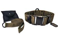M1-K9 Big Military Dog Collar OD Green