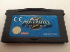 Metroid Fusion Nintendo Game Boy Advance Gba No Nes Snes Wii