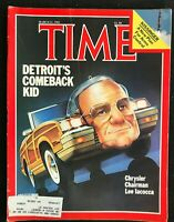 TIME Magazine - Mar 21 1983 - CHRYSLER'S LEE IACOCCA / Reagan's Foreign Policies
