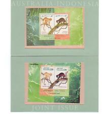 Australia Post of Pack Indonesia Joint Issue Cuscus Mini Sheets