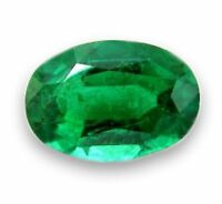 Natural Green Emerald Oval Cut 4mm x 3mm Gem Gemstone