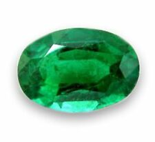 Natural Green Emerald Oval Cut 6mm x 5mm Gem Gemstone