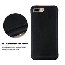 Genuine Leather Pierre Cardin Slim Cover Case For iPhone 7 Plus Mate 9 Sony XZ