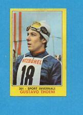 CAMPIONI dello SPORT 1970-71-Figurina n.301- GUSTAVO THOENI -SPORT INVERNALI-NEW
