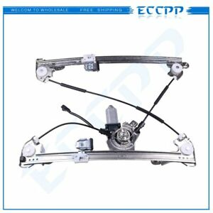 For 2005-2008 Ford F150 Crew Cab Front Right Power Window Regulator with Motor