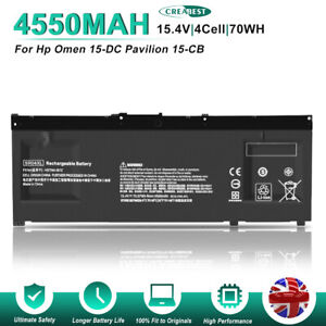 15.4V 70WH SR04XL 917724-855 Battery For HP Omen 15-DC000 15-CE 15-cb HSTNN-DB7W
