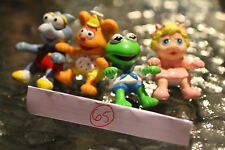 McDonalds 1986 Complete Set of 4 Muppet Babies figures Rare Baby No vehicles