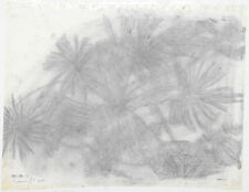 "Hiro Yamagata ""untitled (Flower)"" 2003 Drawing on paper, mounted on canvas"