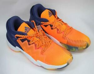 Adidas Mens 11 D.O.N. Issue 2 Basketball Shoes Sneakers Athletic Orange FV8958