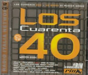 LOS CUARENTA 40 winter 2004 - various artists CD