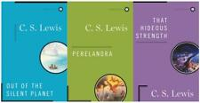 CS Lewis SPACE TRILOGY Sci Fi Series HARDCOVER Collection Set of Books 1-3