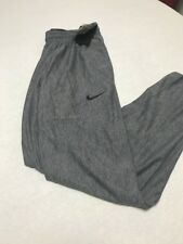 NWT Mens Nike Gray Medium Basketball Pants! Tag For $60!