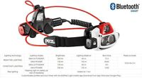Petzl NAO+ Rechargeable Bluetooth Head Torch Lamp Lighting Sports Running