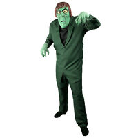 Scooby Doo The Creeper Adult Halloween Costume Shirt Jacket Pants Face Mask