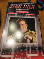 VHS Star Trek TOS Episode 79 - Turnabout Intruder: Shatner Nimoy H Landers