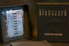 BIOHAZARD LIGHTER SEIRES Silver BRAND NEW ( Resident Evil )