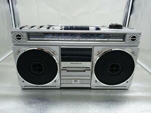 Vintage Magnavox D8120 AM FM Stereo Radio Cassette Recorder –TESTED