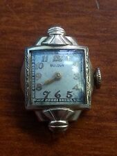 VINTAGE BULOVA GOLD FILLED WATCH C340676