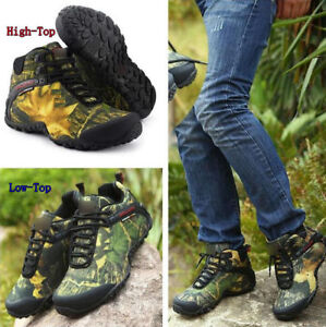 7321 New Men's Waterproof Camo Hiking Hunting Camping Shoes Outdoor Ankle Boots