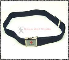 Cintura tela blu Vega Holster 2V77 croce rossa italiana CRI